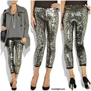 Isabel Marant X H&M Sequins Leggings 4 Sequinned